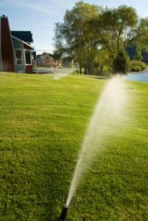Atomatic lawncare sprinklers